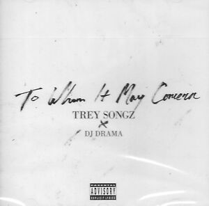 TREY SONGZ - To whom it may concern - 11 Tracks