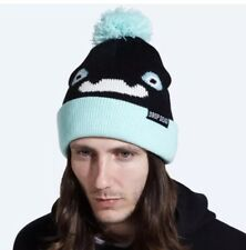 ULTRA RARE Drop Dead Clothing Unisex Kiba Bobble Beanie Hat Oliver Sykes BMTH ❤️