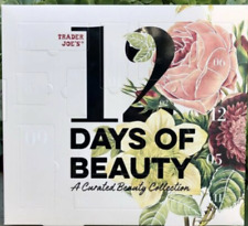 Trader Joe's 12 Days Of Beauty Advent Calendar Curated Beauty Christmas Gift New