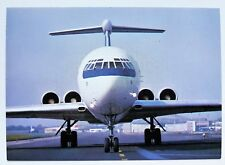 LOT Polish Airlines official postcard IL-62M