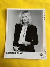 Christine McVie Press Photo 8x10�, (Fleetwood Mac, Wb.