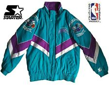 Rare Vintage Starter NBA Charlotte Hornets Bomber Jacket (Size L)
