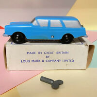 Marx Motorway Clockwork Car E. 52  Boxed Excellent Condition Working Order!