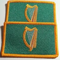 2 IRELAND Flag Morale Patch with VELCRO® Brand Fastener Military Irish Emblem #4