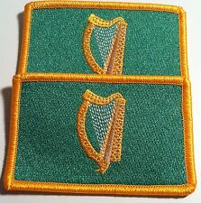 2 IRELAND Flag Morale Patch with VELCRO Brand Fastener Military Irish Emblem #4
