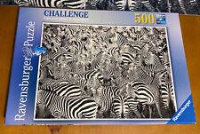 Ravensburger Zebra Challenge 500 Piece Puzzle