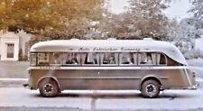 Original 1934 Twin Coach Co. Model 23-S Bus Photo Sepia Toned