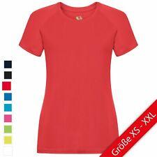 Fruit of the Loom Performance T Lady-Fit Damen T-Shirt Sport Shirt Fitness NEU