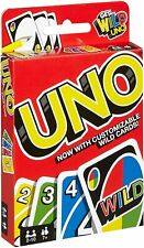 UNO Classic Card Game Red