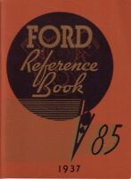 1937 Ford Owners Manual User Guide Reference Operator Book Fuses Fluids OEM