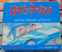 Harry Potter And The Chamber Of Secrets 8CD Audio Book Stephen Fry Rowling 2000