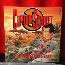 Spectrum strikes back Captain Scarlet  Paperback 1993 Boxtree ITC Gerry Anderson