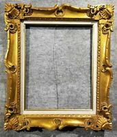 """20x24 Ornate Vintage Antique Hand Carved Gold Kinkade Picture Frame 4"""" 1178G"""