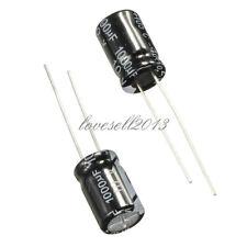 20Pcs 8x12mm 1000uF 10V 105°C Radial Electrolytic Capacitor