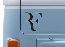 ROGER FEDERER #1 VINYL DECAL wimbledon Tennis logo sticker car VW van badge