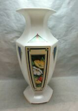 Aynsley Anniversary Collection Art Deco pattern porcelain vase