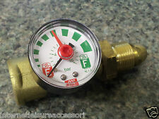 HiLo Propane Gas Gauge Excess Flow / Leak Indicator - Propane Screw-In Fitting
