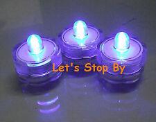 12 Purple Submersible Wedding Floralytes LED Tea light
