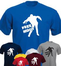 Free Hugs Zombie Funny Brand New T-shirt Birthday Present Gift
