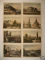 8 x alte AK Dresden alte Ansichten Frauenkirche ...