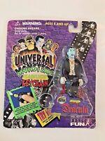 DRACULA Keychain Miniature Universal Studios Monsters Flashlight 1995 - NIP