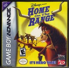 GBA Disney Home on the Range (2004) Brand New & Factory Sealed