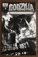 Godzilla Half Century War #1 2012 Retailer Incentive IDW Variant Comic Book