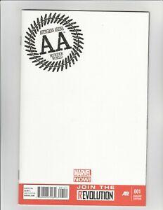 Avengers Arena #1 - Blank Variant 9.2 Near Mint - NOW!