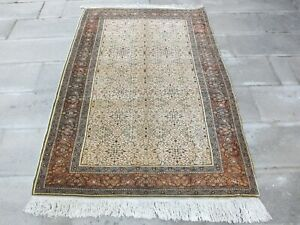 Turkish Rug 4x5.9 ,Antique Carpet,Entrance Rug,Modern Rug,Bohemian Rug,Old Rug.