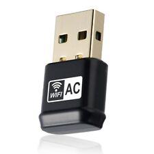 adaptador USB Wifi , Adaptador inalambrico de banda dual AC600Mbps 2.4G / 5G 802