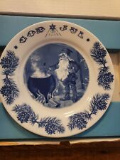 1981 Jenny Nystrom Christmas plate, pixie in the kitchen. Beautiful plate!