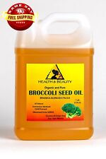 BROCCOLI SEED OIL ORGANIC COLD PRESSED ANTI-AGING by H&B Oils Center PURE 7 LB