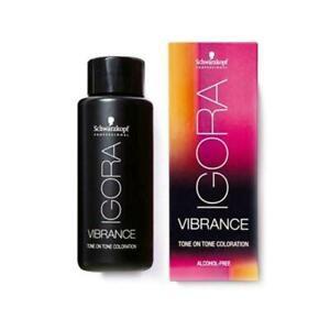 SCHWARZKOPF IGORA VIBRANCE GEL DEMI-PERMANENT HAIR COLOR 2.1 oz (Choose Shade)