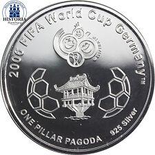 Polierte Platte Münzen mit Motiven aus Asien
