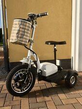 E-Mobil E-Scooter Mobilitätshilfe Seniorenroller Elektroroller fun Dreirad