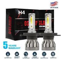 MINI H4 HB2 9003 1500W 225000LM LED Headlight Kit Hi/Lo Power Car Fog Bulb 6000K