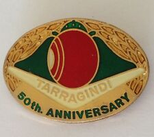 Tarragindi 50th Anniversary Bowling Club Badge Rare Vintage (L7)