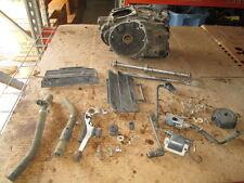Honda XR350 Crankcases Ignition Coil Radiator Shroud Brake Pedal Etc Parts Lot