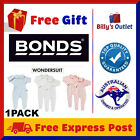 1 Pack Bonds Baby Wondersuit One piece Romper Jumpsuit Bodysuit Toddler Girl Boy