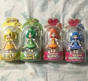 Smile precure glitter force figure set NO CURE HAPPY toei animation Japanese toy