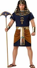 """HALLOWEEN COSTUME Pharaoh NEW in package Mens 2X 50-52"""" chest Adult plus size"""