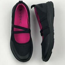 Vionic 336 Opal Women Black Slip On Othrotic Support Comfort Shoes sz 9