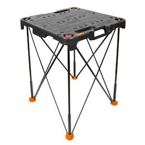 Side Kick Portable Table Compact Lightweight Design Detachable Tabletop