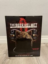 Blksmith Roman Warrior Beer Helmet Hat For Sports, Tailgating, and Parties
