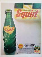 Lot of 3 Vintage 1962 Squirt Ad Southwest Citrus