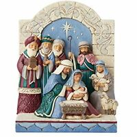 Enesco Jim Shore Heartwood Creek Victorian Holy Family Nativity Figurine 6006598