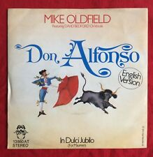 """MIKE OLDFIELD -Don Alfonso- Rare German 7"""" with unique Picture Sleeve (Vinyl)"""