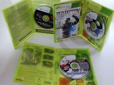 !!! XBOX 360 SPIEL Metal Gear Solid V, Space Marine, Red Faction, USK18 !!!