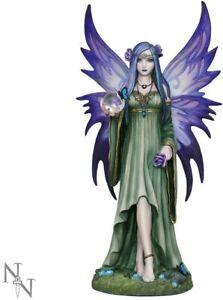 Mystic Aura Figurine Anne Stokes Gothic Fairy Ornament 23cm NOW4023 Nemesis Now