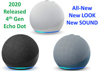 2020 Amazon Echo Dot 4th Generation With w/ Alexa Voice Media Device- ALL COLORS